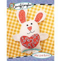 Little Love Bunny Sewing Pattern from Jennifer Jangles