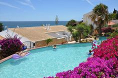 Loving this holiday villa in the Algarve, Portugal. Amazing sea views and close to restaurants and shops.