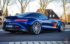 Prior Design Mercedes AMG GT on Vossen Wheels