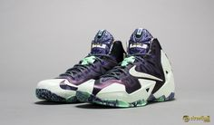 LeBron 11 new LeBron James NBA All-Star Game 2014 sneakers.