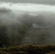 Quiraing, the table, Isle of Skye, Scotland