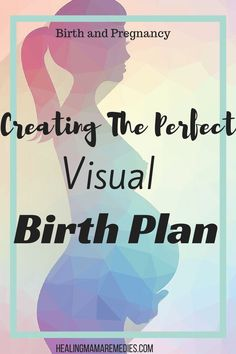 Visual Birth Plan Creating The Perfect  Labour Birth And Pregnancy