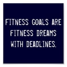 Truth!! New fitness goal-  first half marathon in January!