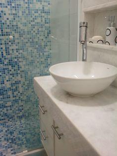 banheiro mínimo - conjugado em Copacabana - projeto Margareth Maria Salles