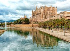 La imponente Catedral de Palma