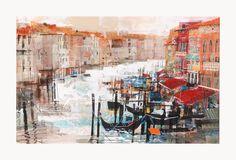 The Grand Canal Venice. Mike Bernard