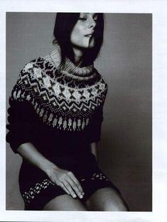 I love Islandic knitwear.