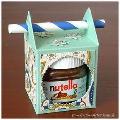 Mini-Nutella-Strohhalm-Box – Kreativwerkstatt