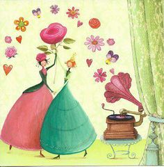 dancing to the music of spring