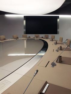 Meeting Table | conference room | | meeting room | #meetingspace #design  http://www.ironageoffice.com/