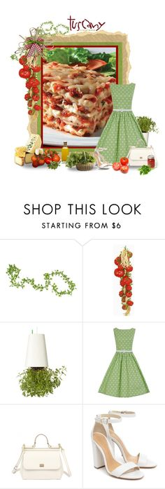 """""""Food Challenge 13 - Pasta"""" by miradawnp ❤ liked on Polyvore featuring Boskke, Dolce&Gabbana, Schutz and Olive"""