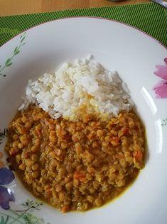 Rote #linsen mit #reis ist nicht nur ein #günstigesessen sondern auch total #lecker . #omas1eurorezepte #linseneintopf #reisrezepte #kochen #kochenfürdiefamilie #kochenfürkinder #kochenistliebe #essen #günstigkochen #günstigerezepte Chana Masala, Risotto, Grains, Rice, Ethnic Recipes, Food, Poor Mans Recipes, Budget Cooking, Rice Dishes