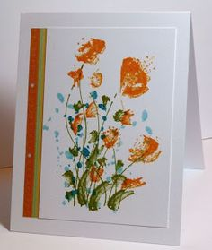 Flowers in the Breeze--Rubbernecker stamps