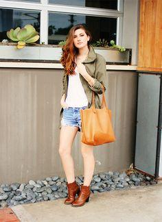 'Target Jacket, Diy Tote' By Jade Elise of allthesedays