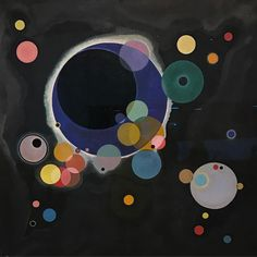 """5,063 Likes, 40 Comments - Studio Olafur Eliasson (@studioolafureliasson) on Instagram: """"One of my absolute #favorite #painting by #kandinsky at @guggenheim NY titled Several Circles from…"""""""