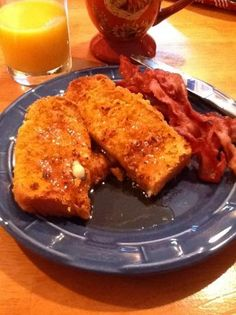 From Food.com, Cap'n Crunch French toast from Guy Fieri's Diners, Drive-Ins and Dives.