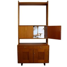 Josef Frank Two Part Cabinet   From a unique collection of antique and modern cabinets at https://www.1stdibs.com/furniture/storage-case-pieces/cabinets/