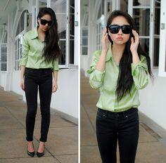 just all of it. Summer green (by Meijia S) http://lookbook.nu/look/3441015-summer-green