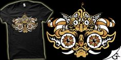 """Mascara Diablada"" t-shirt design by gaunty"