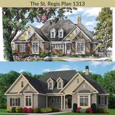The St. Regis Plan 1313 has a new look! #WeDesignDreams #DonGardnerArchitects