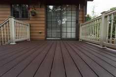 Update your outdoor space with Inteplast Building Products Deck. The non-skid surface mirrors the look of real wood without the maintenance that wood requires. It's moisture and rot resistant and there's no annual staining, sealing, or painting required.    Inteplast Building Products DECK
