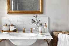 Add some trendy luxe to your bathroom with our Marrakesh collection.