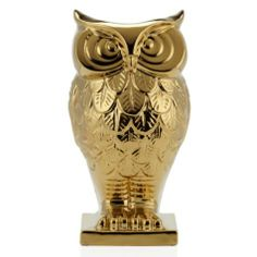 "Cute lil guy...a little cranky but cute. Owl Vase - 13.5""H from Z Gallerie"