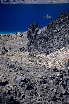 A walk to the volcano, Santorini - Greece