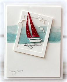 There´s a double challenge on CAS Colours & Sketches blog  this week!   Both a colour and a sketch challenge!     Here´my card for the chal...