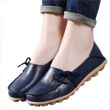 4785d663b43c7 Tendance Chaussures 2018 Description Plus size women shoes fashion soft women  flats slip on Spring Autumn women casual shoes Comfort loafers zapatos mujer