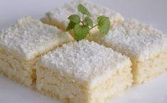 Kokosová rozkoš | NejRecept.cz Baking Recipes, Cake Recipes, Dessert Recipes, Baking Cupcakes, Cupcake Cakes, Sweet Desserts, Sweet Recipes, Toffee Bars, Novelty Birthday Cakes