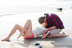 Cute Teenage Couples Kissing | Kiss cute teen couple beach lovers | 9images