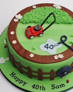 Garden lover, lawn cake