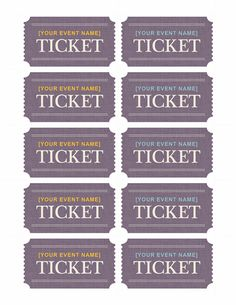 free printable tickets with numbers click to download a pdf
