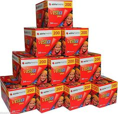 (◕‿◕) 10 #rolls agfa vista plus 200 35mm #colour #camera film 24 exposure , View more on the LINK: http://www.zeppy.io/product/gb/2/171965689658/