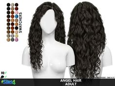 ANGEL HAIR | REDHEADSIMS - CC