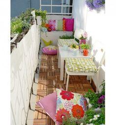 Osez le mélange des couleurs pour la décoration de votre terrasse