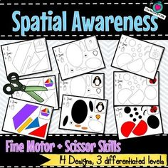 Spatial awareness is the ability to be aware of oneself in space. The awareness of spatial relationships is the ability to see and understand two or more objects in relation to each other and to oneself. This is a complex cognitive skill that children need to develop at an early age. Spatial awarene...