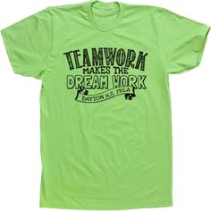 Teamwork Makes the Dream WOrk Business Club T-shirts Custom Tees FBLA DECA Banner SkeTch
