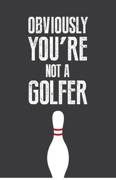 "big lebowski quote ""not a golfer"" - Google Search"
