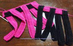 Pattern: Woven Hot Pad / Trivet (Crochet between worlds) Crochet Kitchen, Crochet Home, Knit Or Crochet, Crochet Crafts, Crochet Projects, Knitting Patterns, Apron Patterns, Dress Patterns, Rugs