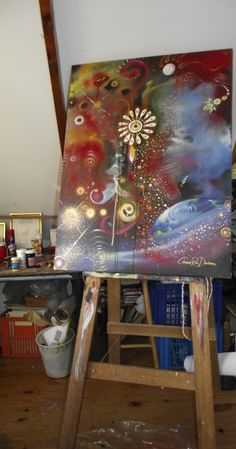 Creative Space...10 Tips Designed to Keep You on Your Toes by Cherie Roe Dirksen