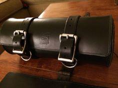 Handmade Leather Motorcycle Tool Bag Tool Roll