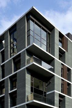 condominium facade design