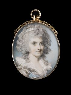 Portrait miniature of a Lady by  George Engleheart (1750/3-1829)