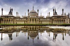 Brighton Royal Pavilion Reflections, Brighton| England(by Martin on Flickr)