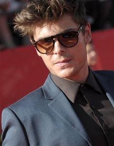 Zac Efron in Persol Sunglasses