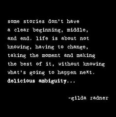 Gilda Radner Quote | Inspirational #quotes from inspirational people