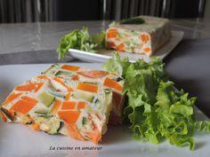 La cuisine en amateur de Maryline: Terrine de carottes et courgettes