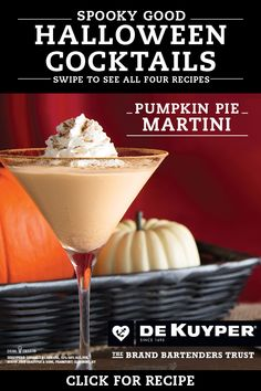 Impress your guests with these frightfully delicious and simple Halloween DeKuyper cocktails. Halloween Cocktails, Halloween Food For Party, Holiday Drinks, Halloween Foods, Winter Drinks, Halloween Cakes, Halloween 2020, Cocktail Drinks, Fun Drinks